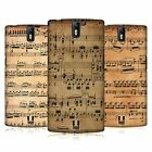 HEAD CASE DESIGNS MUSIC SHEETS HARD BACK CASE FOR ONEPLUS ONE