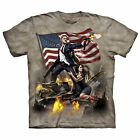 Adult Men's The Mountain Bill Clinton President Patriotic USA America Tee Shirt
