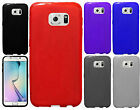 For Samsung Galaxy S6 EDGE TPU CANDY Gel Flexi Skin Case Phone Cover Frosted