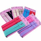 15mm Wide Band Fashion Stylish Bra Straps Women's Accessories 10 Plain Color Set