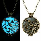 Hot Glow in the Dark New Valentine Day gifts Women Hollow open Pendant Necklace