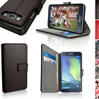 PU Leather Skin Wallet Card Case for Samsung Galaxy A3 SM-A300F Flip Stand Cover