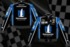 Dale Earnhardt Jr Nascar Jacket Nationwide 88 Black Blue Mens Twill Jacket New