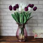 10Pcs Wedding Decor  Tulip Artificial Wedding Home Design Bouquet Flowers