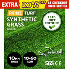 10-60 SQM Synthetic Turf Artificial Grass Plastic Green Plant Fake Lawn Flooring