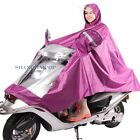 Men Women Scooter Motorcycle Cycling Rain Cape Poncho Coat Jacket Waterproof New