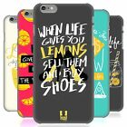 HEAD CASE DESIGNS LIFE AND LEMONS HARD BACK CASE FOR APPLE iPHONE 6 PLUS 5.5