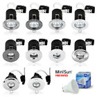 6 x Fire Rated / IP65 Bathroom / LED Ceiling Spot Lights Spotlights Downlights