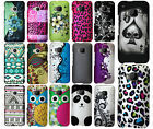 For HTC One M9 Rubberized HARD Protector Case Snap On Phone Cover Accessory