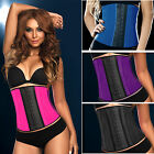 Hot Sale Latex Waist Cincher Boned Corset ody Shaper Shapewear UK Seller
