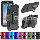 Rugged Hybrid Shockproof Cover Stand Clip Holster Case for Samsung Galaxy S6 new