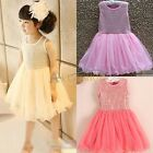 Kid Toddler Baby Girl Clothes Skirt Sequin Fancy Tutu Dress Party Princess Dress