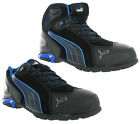 New Puma Mens Rio Black S3 SRC Safety Midsole & Toe Cap Trainers Shoes Boots