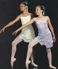 KAITLIN Lyrical Ballet Dress Lace Glitter Ivory & Lilac CS,M,L,CXL,AXS,AM,AXL