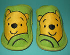 New Unisex Pooh plush Winter slippers green