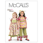 McCall's 6062 Out of Print Sewing Pattern to MAKE Girls' Top Dress Trousers