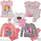 GIRLS CHARACTER PYJAMAS MY LITTLE PONY, PEPPA PIG, SOFIA, DOC McSTUFFIN