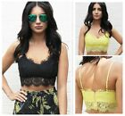 Fashion Women Sexy Lace Strap Sleeveless Slim Vest Shirt Corset Tank Crop Top S