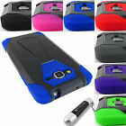 samsung h5 - FOR SAMSUNG GALAXY GRAND GO PRIME RUGGED T-STAND HYBRID ARMOR CASE COVER+STYLUS