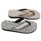 Fashion Men Boys Massage EVA Flip-Flops Beach Shower Sandals Summer Slipper - CB