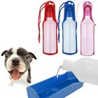250ml 500ml Foldable Pet Dog Cat Water Drink Bottle Dispenser Feeder Travel Bowl
