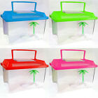 5 PIECE COLOURED PLASTIC AQUARIUM TANK FISH BOWL SET SMALL LARGE PETS NEW