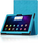 """For 10.1"""" Lenovo Tab 2 A10-70F Tablet Luxury Flip Folio Leather Case Cover Stand"""