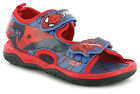 New Boys/Childrens Navy/Red Spiderman Touch Fastening Sandals UK SIZES