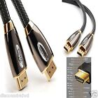1m-10m NEW Premium Gold HDMI High Speed Video Cable For LCD HDTV 3D PS3 Xbox SKY
