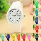 Womens Watch Leisure Sports Watch Candy-colored Watch Jelly Silicone Watch NEW