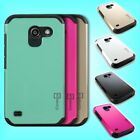 Slim Guard Protective Armor Phone Cover Case for Huawei AT&T Tribute / Fusion 3