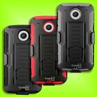 Belt Clip  Holster Cover and Hybrid Case  for Motorola Moto X 2nd Gen (2014) X+1