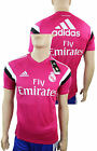 Fly Emirates Real Madrid Adidas Training Trikot Kurze armel Rosa 2014 15 Herren