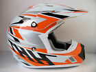 NEW THH KTM ORANGE MOTOCROSS ENDURO HELMET ROAD LEGAL (ALL SIZES) SX SXF EXC XC