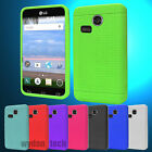 For LG Sunrise Lucky L15G L16C  Silicone Gel Skin Flexible Case Soft Cover