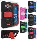 For Samsung Galaxy Grand Prime RUGGED Hard Case Rubber Phone Cover Kickstand