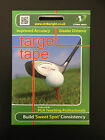 NEW Golf Shot Sensor - Driver Sized Sheets - Pack of 44 Stickers - Multi Packs