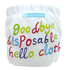 Charlie Banana 2 in 1 Eco-Friendly Hybrid Reusable Cloth Diaper X-Small - Prints