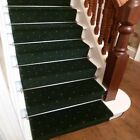 Dotty Green - Stair Carpet Runner For Narrow Staircase Modern Quality Cheap New