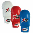 T-SPORT PU COMPETITION KARATE MITTS + THUMB ELASTIC PROTECTIVE GLOVES