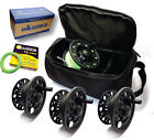 Okuma Airframe Kassette Fly Reel & 4x Spools & FREE Loaded Floating Fly Line