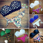 New Women Push-up Bikini Set Padded Bra Triangle Swimsuit Swimwear Bathing Suit