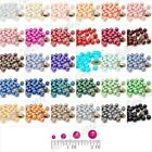 4/6/8/10mm Glass Pearl spacer Round beads Jewelry Making Finding Lots V-HCGP