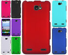 For Paragon Z753G Rubberized HARD Protector Case Phone Cover + Screen Protector