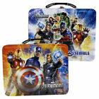 AVENGERS Official 3D Tin Lunchbox Metal Lunch Box Toy Storage Case for Kid #7603
