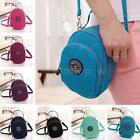 Women Pretty Shoulderbag Ladis Crossbody Messenger Bag Zippers Purse Pure Colour
