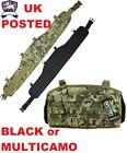 BRITISH ARMY TACTICAL MOLLE PADDED HIPPO BATTLE BELT MULTICAMO BTP /  MTP PLCE