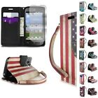 For Huawei H871G (Magna) Case - Flip Folio Design Card Wallet Pouch Phone Cover