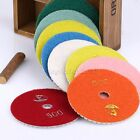 """4"""" inch 100mm Wet or Dry Diamond Polishing Pads Granite Marble Individual Grits"""