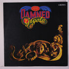 DAMNED: Gigolo / The Portrait 45 (UK PS, red vinyl, nearly new!) Punk/New Wave